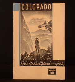 1915 Colorado Rocky Mountain National (Estes) Park