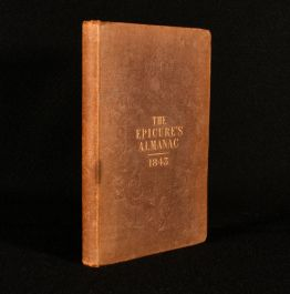 1843 The Epicure's Almanac and Directory