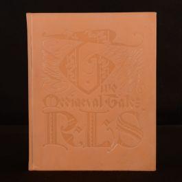 1930 Two Mediaeval Tales R L Stevenson Signed CB Falls Limited Ed Illus Slipcase