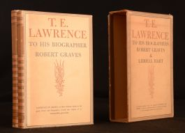 1938 2vol T E Lawrence to His Biographer Liddell Hart Robert Graves Limited Edition Signed