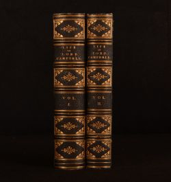1881 2vol The Life of John Lord Cambell Fine Binding Simpson and Renshaw 2nd Ed