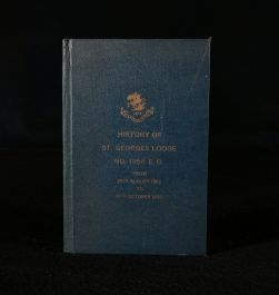 1932 History of St George's Lodge