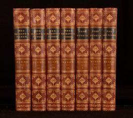 1870-2 7vols William Hepworth Dixon Selected Works Free Russia Her Maj Tower
