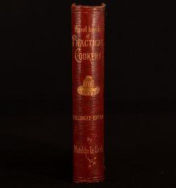 1886 Handbook of Practical Cookery