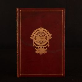 1885 The Ingoldsby Legends Illustrated Cruikshank Leech Tenniel Prize Binding