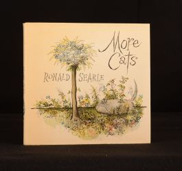 1975 More Cats Ronald Searle First Edition Felines