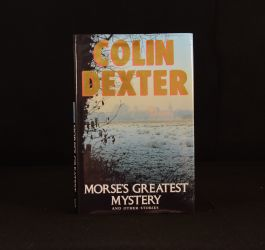 1993 Morse's Greatest Mystery and Other Stories Colin Dexter Signed Anthology