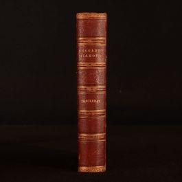 1881 1vol only History of Samuel Titmarsh Great Hoggarty Diamond Thackeray