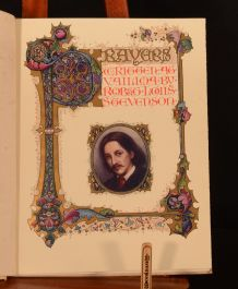 1910 Prayers Written at Vailima Robert Louis Stevenson Sangorski Colour Illustrated