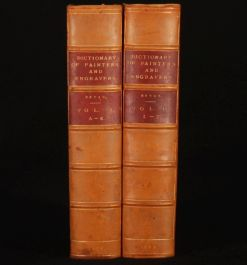 1886-9 2vol Dictionary of PAINTERS & ENGRAVERS M. Bryan