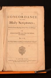 1628 A Concordance to The Holy Scriptures