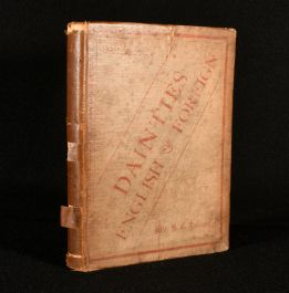 1888 Dainties English and Foreign