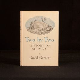1963 Two By Two A Story of Survival David Garnett First Edition Dustwrapper