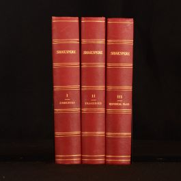 1846 3Vol The Works of Shakspere Illustrated By Kenny Meadows Shakespeare