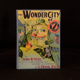 1940 The Wonder City of Oz First Edition John R Neill Illustrated L Frank Baum
