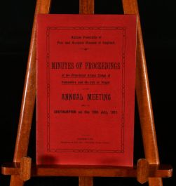 1911 Minutes of Proceedings of the Provincial Grand Lodge of Hampshire