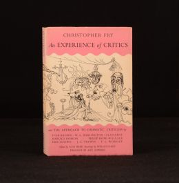 1952 An Experience of Critics and The Approach to Dramatic Criticism Ronald Searle