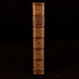 1839 William Cowper The Poetical Works 1st Edition Poetry Verse Romantic