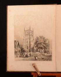 1843 History of the Parish of Grittleton J. E. Jackson John Britton Illus Signed