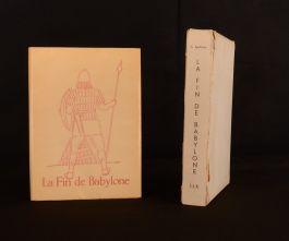 1959 La Fin de Babylone Illus de Van Craenenbroeck Guillaume Apollinaire