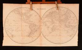 1813 Atlas For School Ancient and Modern Maps Rev J Goldsmith Folding Map Scarce