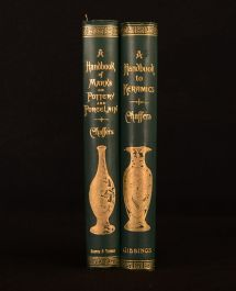 1908-09 2vol Collector's Handbook Pottery & Porcelain Keramics W. Chaffers Illus