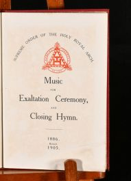 1905 Music for Exaltation Ceremony and Closing Hymn