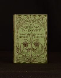 1904 The Oriflamme in Egypt Charles Henry Butcher 1st