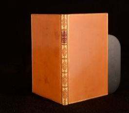 c1855 Reach And Brooks A Story With A Vengeance Riviere Calf Binding With Plates
