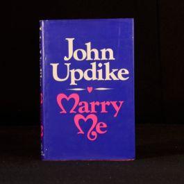 1977 Marry Me A Romance John Updike Novel First Edition Dustwrapper Fiction
