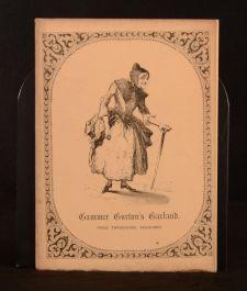 c1846 Gammer Gurton's Garland Joseph Ritson Webster Childrens Illustrated Scarce