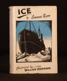 1933 Ice A Tale of Effort Lennox Kerr William Kermode Illus