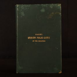 1931 Hahns Oraon Folk Lore A. Grignard Critical Text and Translation Very Scarce