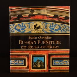 1988 Russian Furniture The Golden Age 1780-1840 Cheneviere First Edition Illustrated Colour