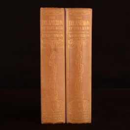 1922 2vols Decameron of Giovanni Boccaccio Limited Ed Privately Printed Scarce