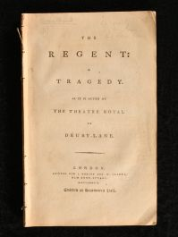 1788 The Regent a Tragedy