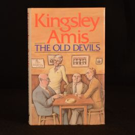 1986 The Old Devils Kingsley Amis First Ed Dustwrapper Booker Prizer