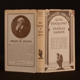 c.1929 Autobiography of Charles Darwin The Thinker's Library, No.7