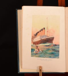 1910 Steamships and Their Story Chatterton First Edition Colour Illustrated Uncommon