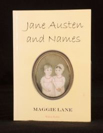 2002 Maggie Lane Jane Austen and Names Signed First Edition Uncommon Signed