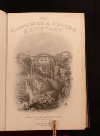 1860 The Carpenter and Joiner's Assistant James Newlands Illustrated