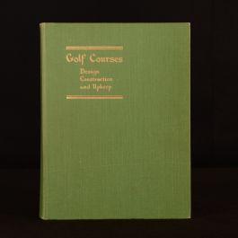 1950 Golf Courses Martin A. F. Sutton Bernard Darwin Second Ed Illus