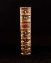 1868 Our Young Folks Magazine Volume IV Illustrated With Plates Leather Binding