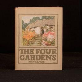 1924 The Four Gardens Emily Handasyde Buchanan Illustrated Dustwrapper Fiction