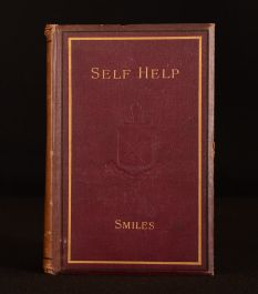 1884 Self-Help Conduct Perseverance Samuel Smiles