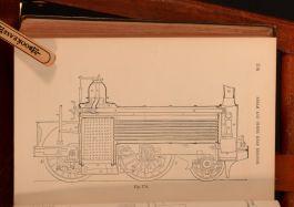 1873 Manual of the Steam Engine Rankine Illustrated Folding Plate William King-Hall