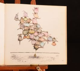 1975 Ronald Searle More Cats First U.K Edition Felines