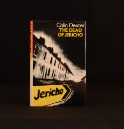 1981 The Dead of Jericho Signed Colin Dexter Inspector Morse