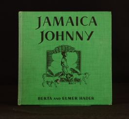 1935 Jamaica Johnny Berta Hader Elmer Hader Illustrated First Edition