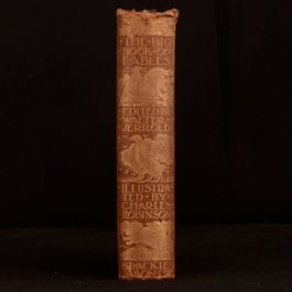 1912 The Big Book of Fables Walter Jerrold Charles Robinson Illustrated Stories